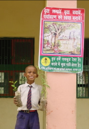 Tree planting day at Sujata