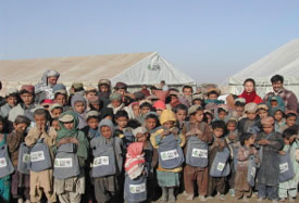 Panjwayi Tent School for IDP Children, Kandahar