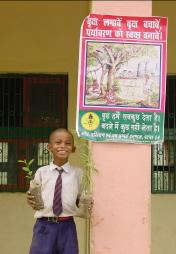 Tree planting day at Sujata
